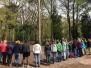 Meisjes opkomst met de welpen en scouts