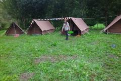 Zomerkamp scouts hikedag